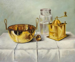 Still Life Oil Painting by Andras Gombar