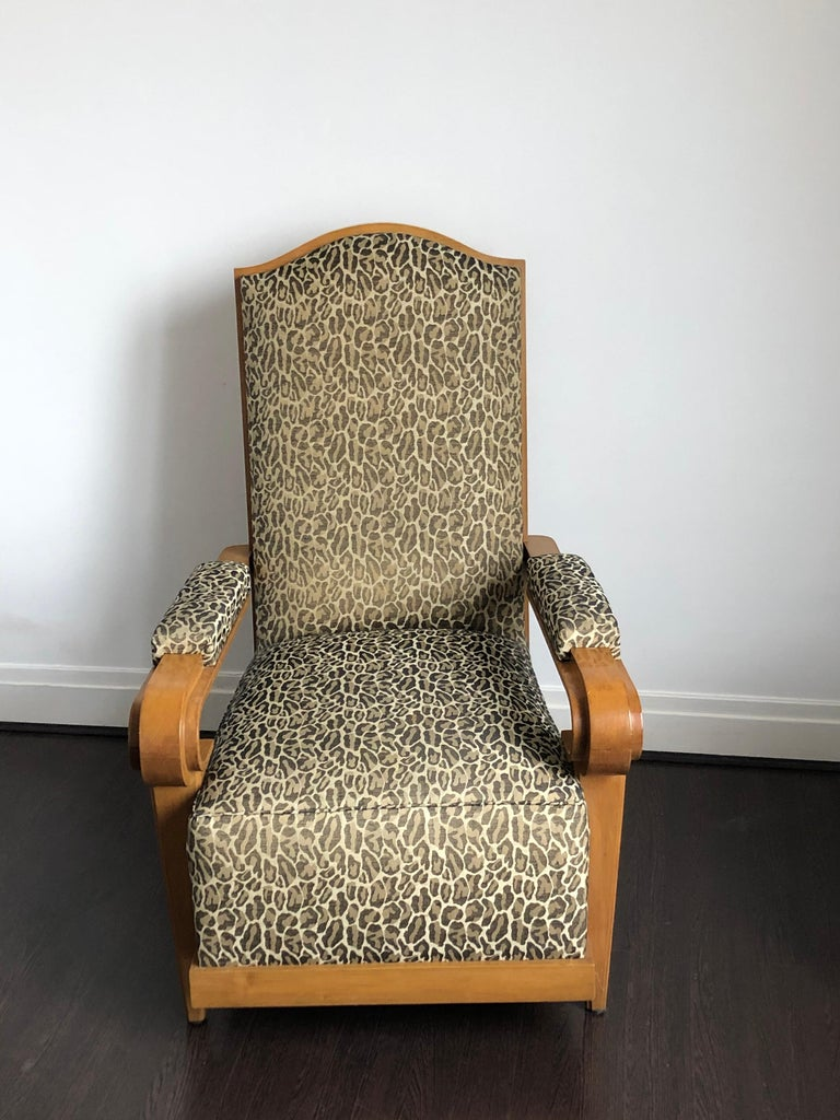 André Arbus Armchair, 1940 In Good Condition For Sale In Paris, FR