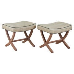 Andre Arbus Pair of Small Benches
