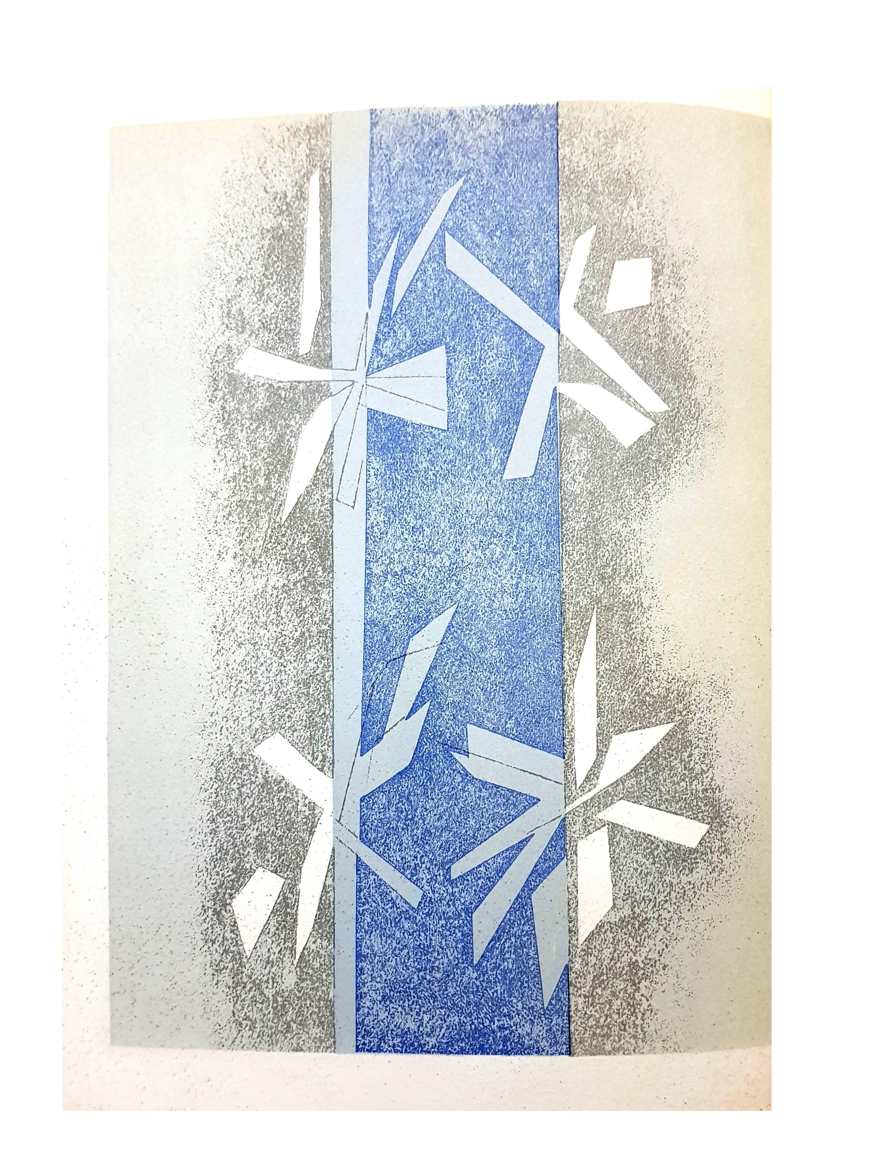 André Beaudin - Composition - Lithograph