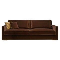 Andre' Brown Sofa by Dom Edizioni