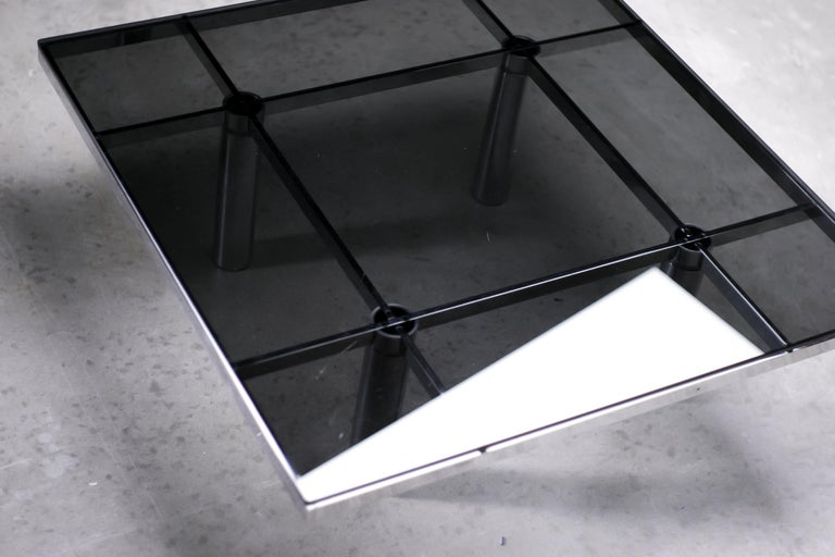 Andre Coffee Table by Afra and Tobia Scarpa for Knoll International For Sale 1
