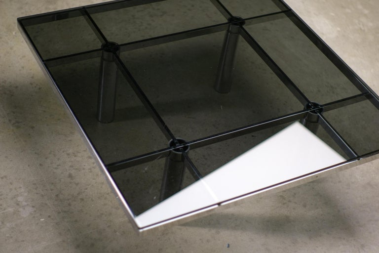 Andre Coffee Table by Afra and Tobia Scarpa for Knoll International For Sale 2