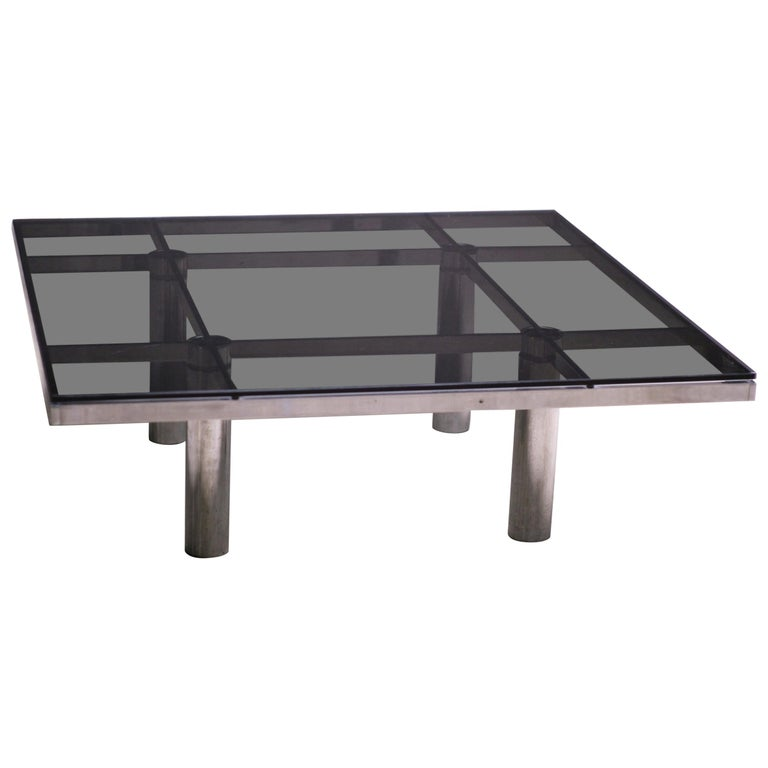 Andre Coffee Table by Afra and Tobia Scarpa for Knoll International For Sale