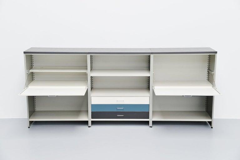 Dutch Andre Cordemeijer 5600 Sideboard Gispen Culemborg, The Netherlands, 1962 For Sale