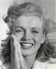 Marilyn Monroe Smiling Up Close Vintage Original Photograph