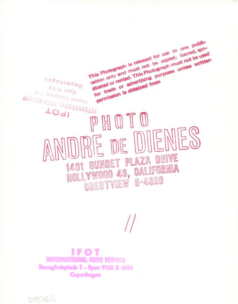 Nude - Modern Photograph by Andre de Dienes