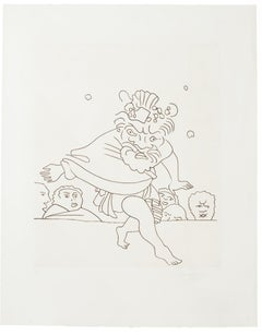 Dance - Original Etching by André Derain - Early 20th Century