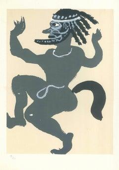 The Dance - Original Lithograph by A. Derain - 1960s