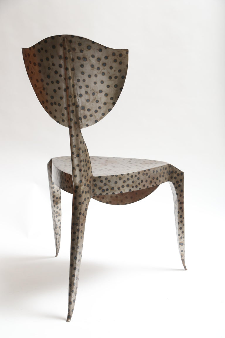 1980s Andre Dubreuil Paris Chair For Sale