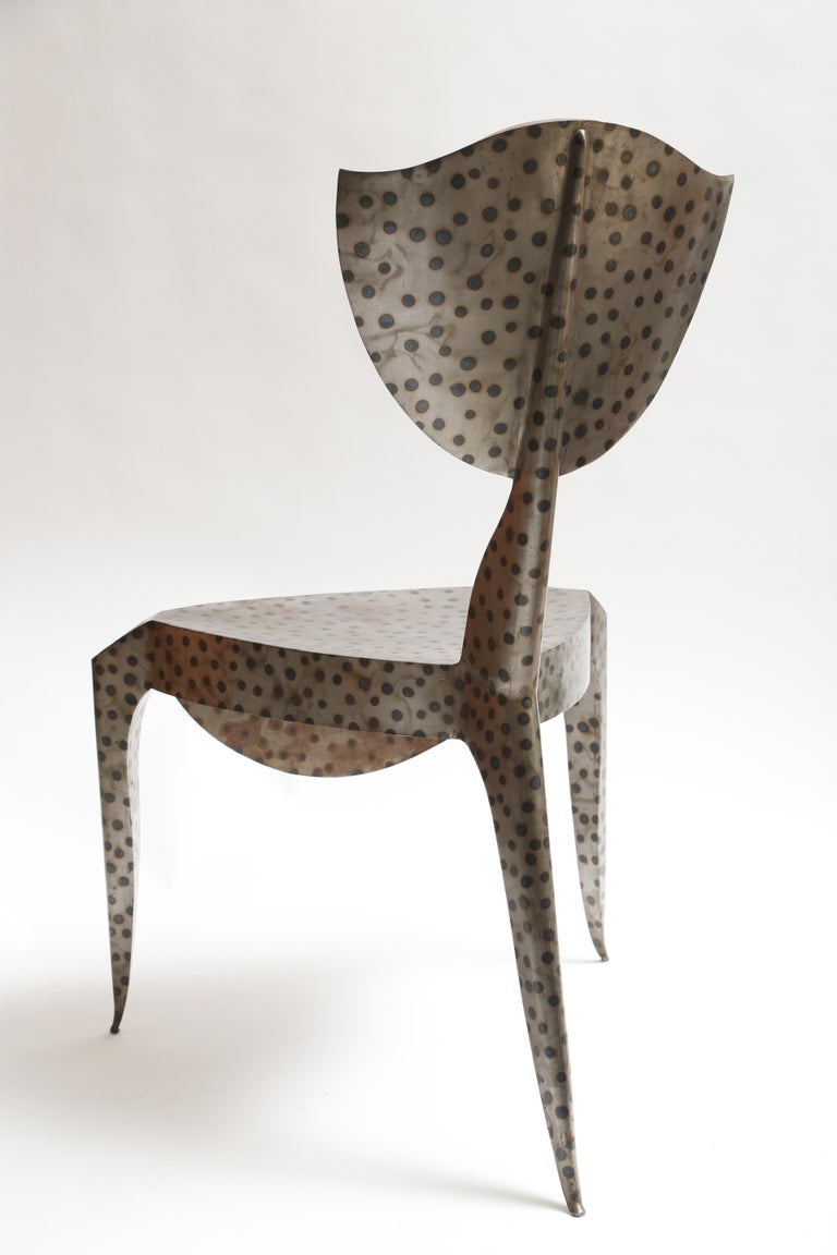 Steel Andre Dubreuil Paris Chair For Sale