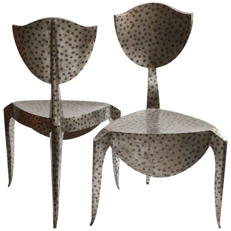 Andre Dubreuil Paris Chair For Sale