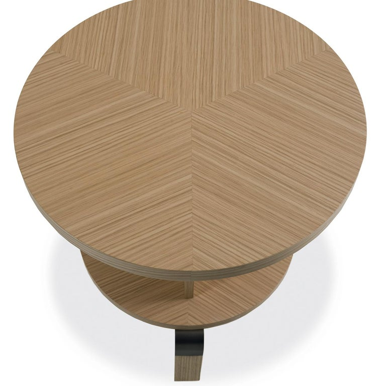 Italian André Durmast Side Table For Sale