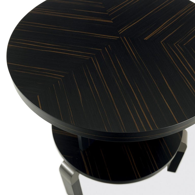 André Ebony Side Table In New Condition For Sale In Milan, IT