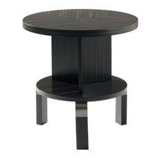 André Ebony Side Table