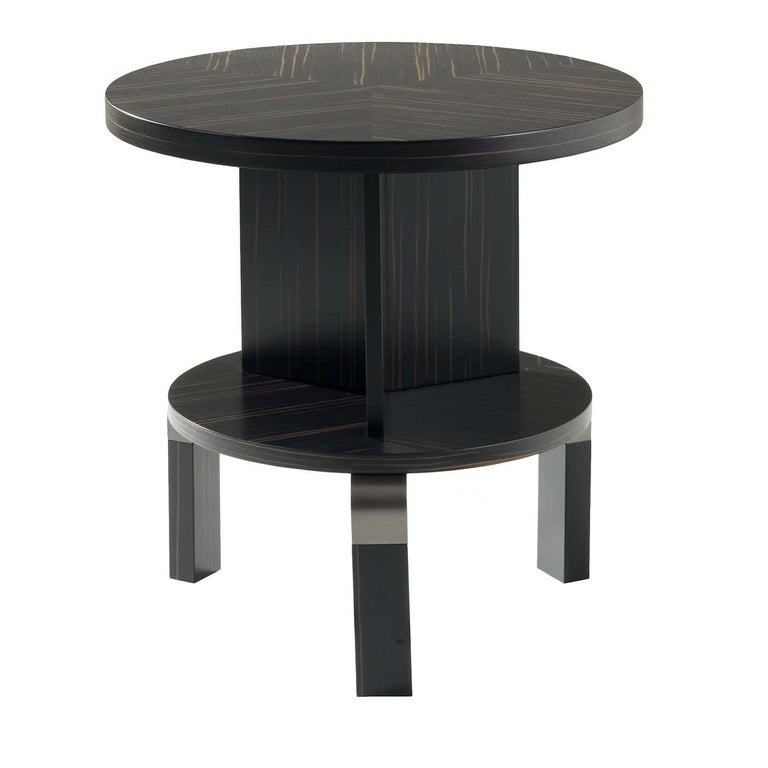 André Ebony Side Table For Sale