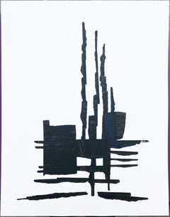 André Ferrand - Composition 1 - India ink on paper