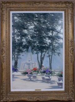 {Fountain with Jardinières}