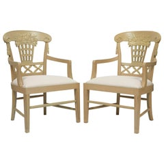 André Groult, Set of Three Armchairs, circa 1912