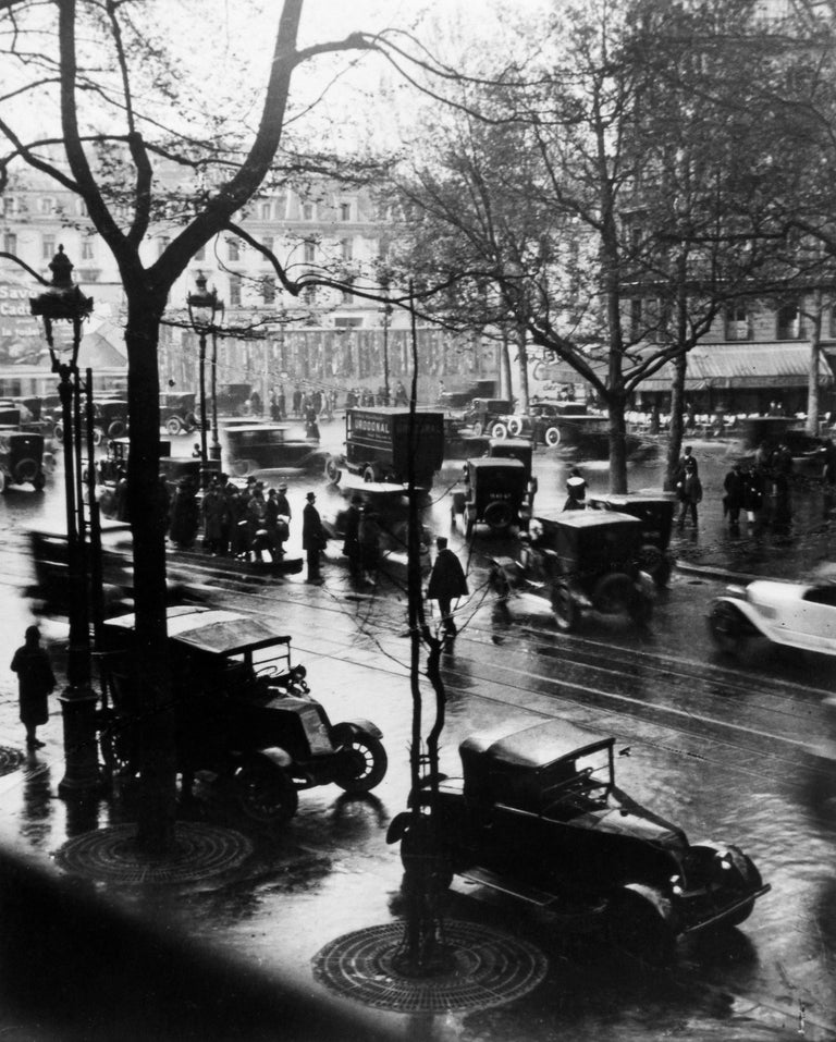 Andre Kertesz Black and White Photograph - Boulevard Malesherbes at Midday, Paris