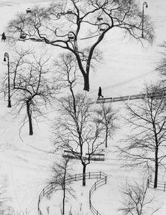 Washington Square Park, New York,  - Andre Kertesz (Black and White Photography)