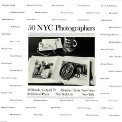 "Andre Kertesz-50 NYC Photographers-18"" x 18""-Poster-1979-Black & White-glasses"