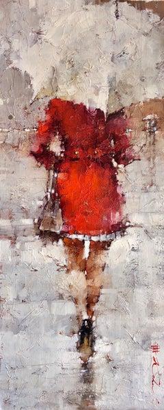 """November Sprinkles"" by Andre Kohn. Original Modern Impressionist Oil Painting"