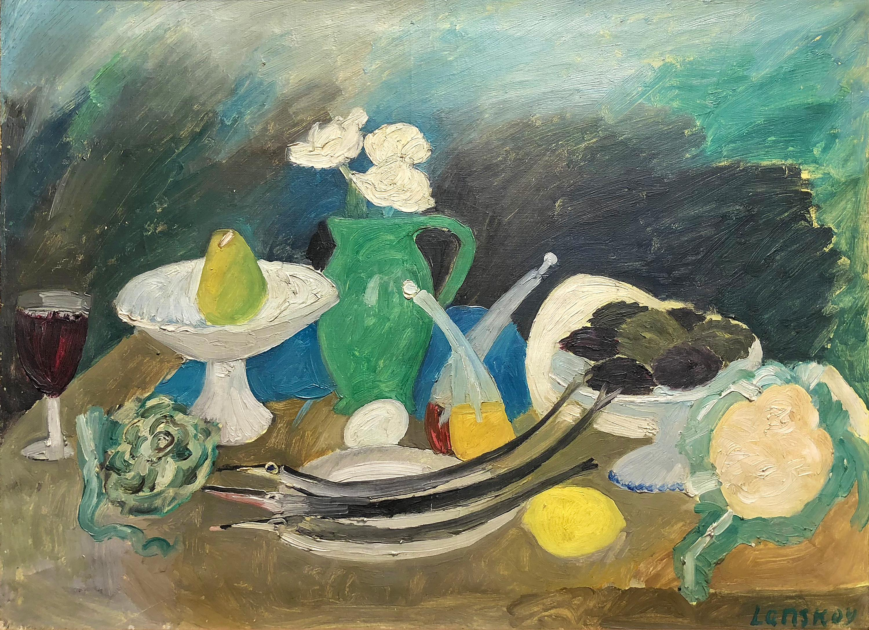 Still Life with Fish and Fruit