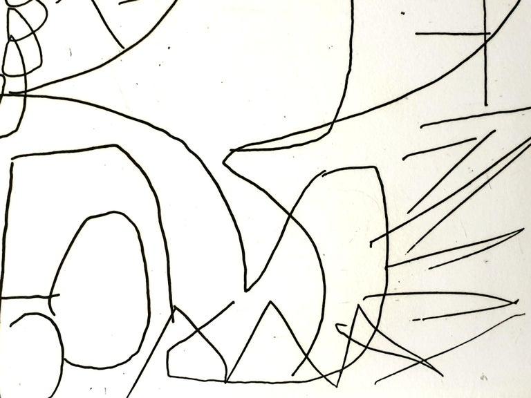André Lanskoy - Composition - Original Etching For Sale 1