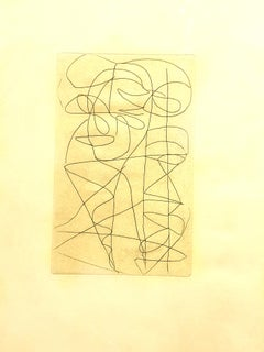 André Lanskoy - Composition - Original Etching