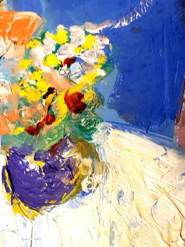 André Lanskoy - Lovers Interior Scene - Original Oil on Canvas 2