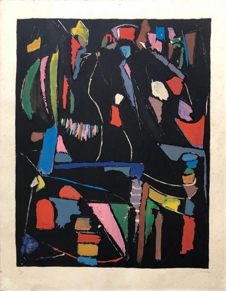 André Lanskoy Abstract Print - Composition