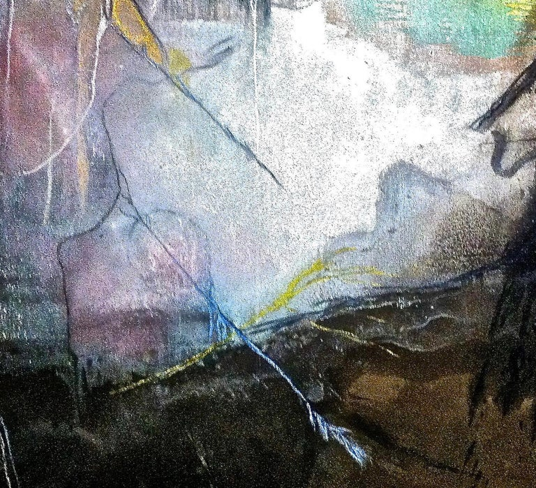 A. Laurenti has been exhibiting since 1984 universal, visionary and contemporary paintings. His images bring back to us through his colors, landscapes and personalities that have existed at a certain point in time. He uses liquids and materials,