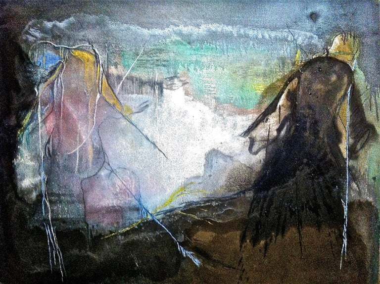 Andre Laurenti Abstract Painting - San Frencesco del Deserto