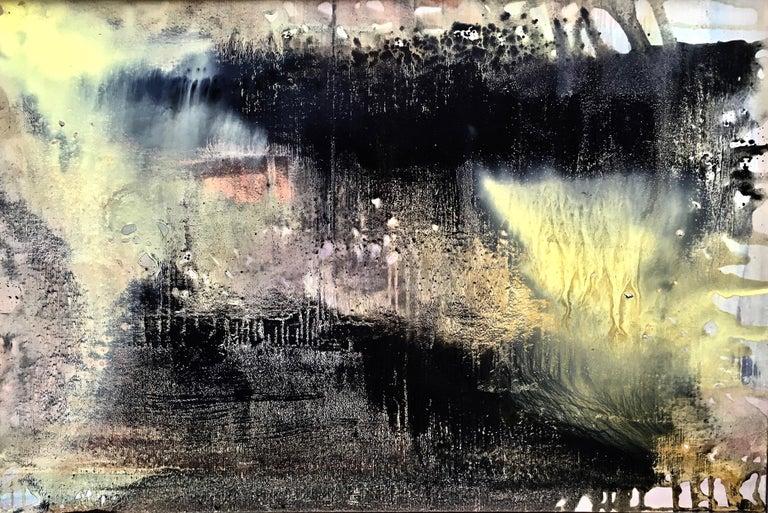 Andre Laurenti Landscape Painting - Winter Laguna