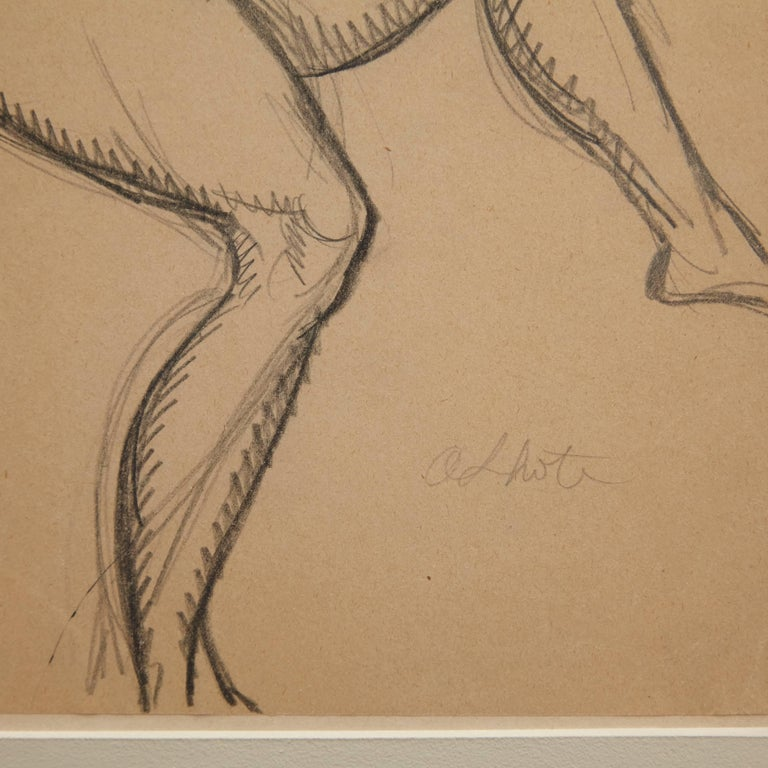 Mid-Century Modern Andre Lhote Drawing in Pencil For Sale