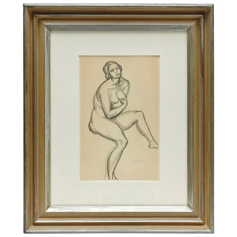 Andre Lhote Drawing in Pencil For Sale