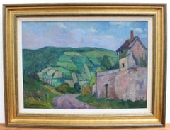 Landscape with House in the Cote d'Or