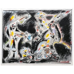 André Masson Abstract Modern French Surrealist Judith and Holofernes Art Print