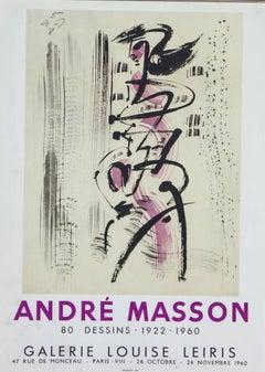 Andre Masson 80 Dessins 1922-1960 Galerie Louise Leiris, Paris