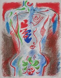 Cupid, the God of Desire - Original lithograph - Mourlot, 1972