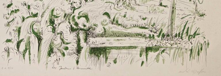 Les Jardins d'Armide - Print by André Masson