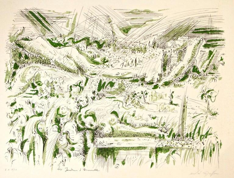 André Masson Print - Les Jardins d'Armide