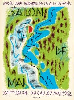 Salon de Mai by André Masson - lithographic poster