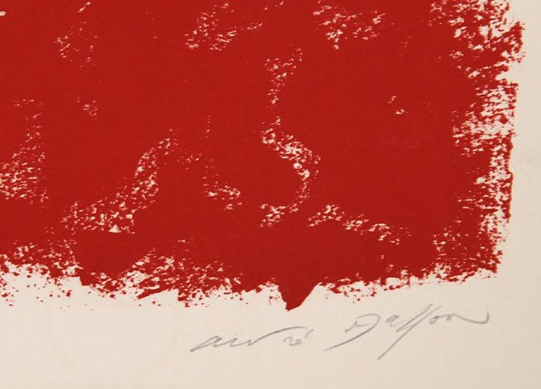 Visage - Print by André Masson