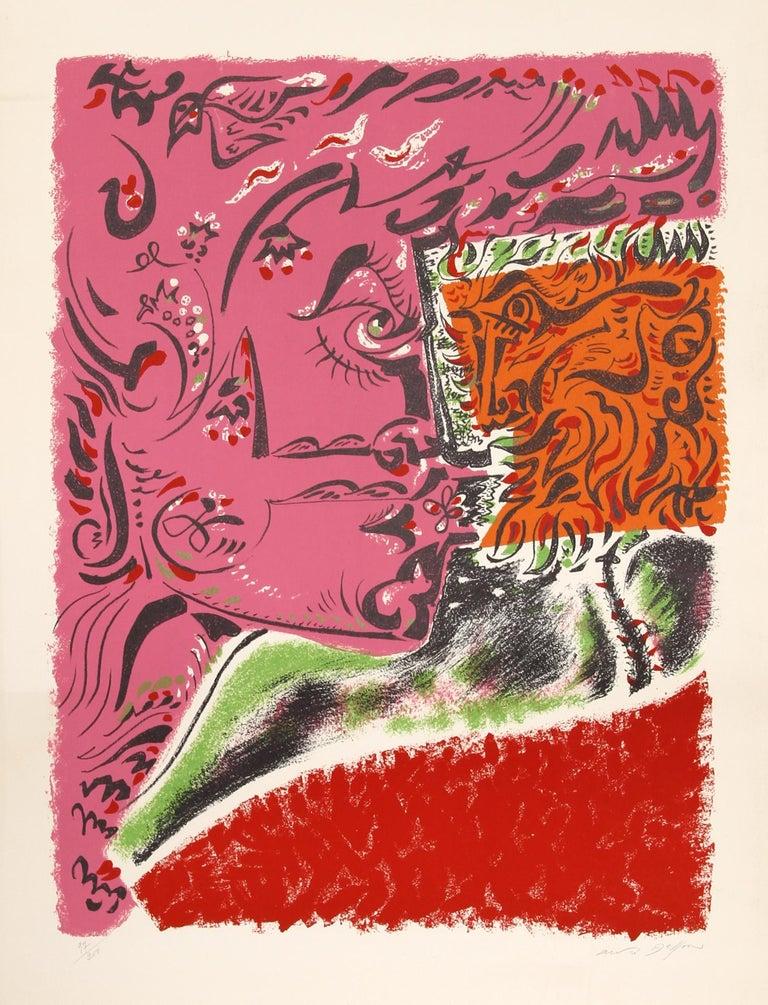 André Masson Figurative Print - Visage