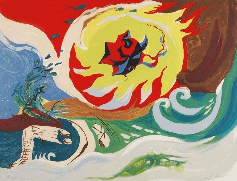 André Masson Landscape Print - WAVE OF THE FUTURE