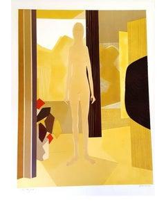 André Minaux - Original Handsigned Lithograph - Ecole de Paris