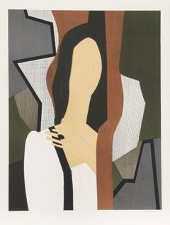"""""""Haleine from the Helene Portfolio"""" Lithograph by Andre Minaux"""