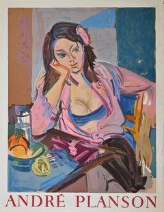 Woman - Vintage Offset print after André Planson - 1960